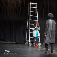 نمایش در انتظار گودو | گزارش تصویری تیوال از نمایش در انتظار گودو / عکاس: سید ضیا الدین صفویان | عکس
