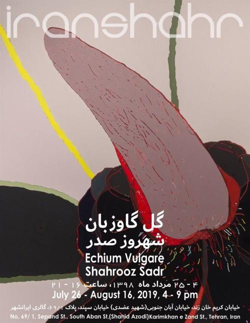 عکس نمایشگاه گل گاوزبان