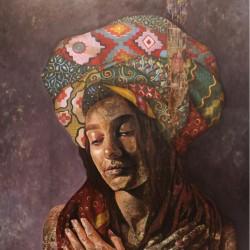 نمایشگاه گروهی هنرجویان آتلیه زینب موحد | عکس