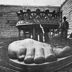 مراحل ساخت مجسمه آزادی نیویورک | عکس