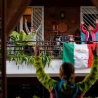 پنجره و بالکنهای جهان در روزهای کرونا   رم، ایتالیا