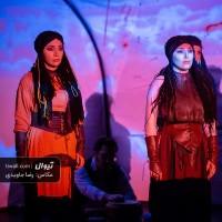 نمایش سرزمین پدری | گزارش تصویری تیوال از نمایش سرزمین پدری / عکاس: رضا جاویدی | عکس