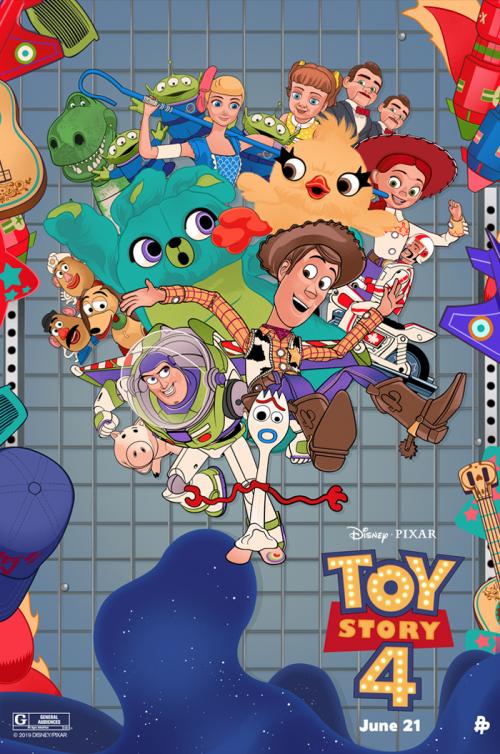 عکس انیمیشن داستان اسباب بازی ۴