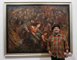 نمایشگاه حجت شکیبا در فرهنگسرای نیاوران ادامه می یابد | عکس
