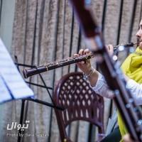 کنسرت سازهای بادی چوبی و برنجی | گزارش تصویری تیوال از تمرین کنسرت سازهای بادی چوبی و برنجی، سری دوم / عکاس: سارا ثقفی | عکس