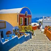 جزیره سانتورینی یونان | عکس