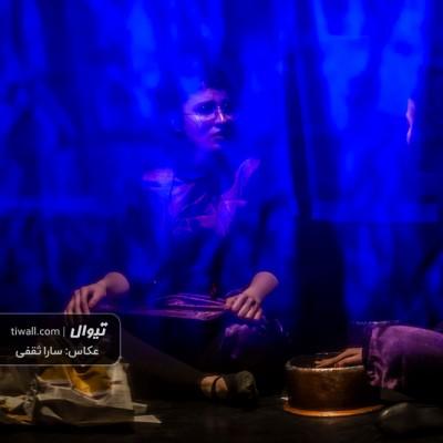 گزارش تصویری تیوال از نمایش رویش ناگزیر دخیها در حاشیه / عکاس: سارا ثقفی | عکس