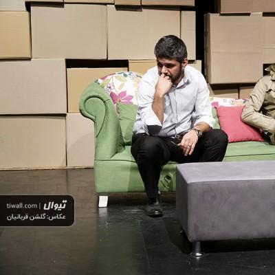 گزارش تصویری تیوال از نمایش پسر / عکاس: گلشن قربانیان | عکس