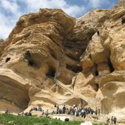 گردش یک سفر یک کتاب  تخت سلیمان همراه با علی شمس    غار کرفتو