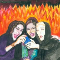 نمایشگاه خواهران | عکس