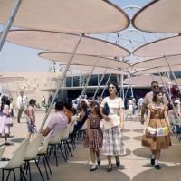 افتتاح دیزنیلند در سال ۱۹۵۵ | عکس
