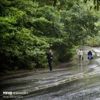 باران پاییزی گرگان   عکس