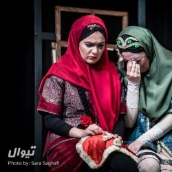 نمایش مجلس سیاه بازی و شادی آور آفاق السلطنه | عکس