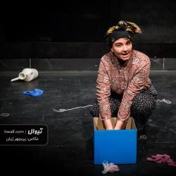 گزارش تصویری تیوال از دومین روز جشنواره تئاتر بانو ( سری نخست) / عکاس: پریچهر ژیان   عکس