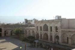 کاروانسرایی در برازجان که زندان مهندس بازرگان بود | عکس