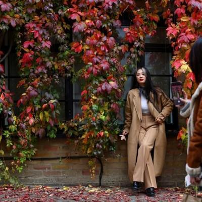 پاییز در نقاط مختلف جهان | London, Britain