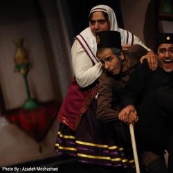 نمایش مضحکه دزدها | عکس