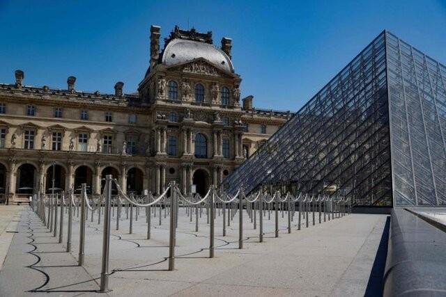 موزههای فرانسه در تلاش برای بازگشایی | عکس