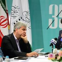 گزارش تصویری تیوال از نشست خبری سی و پنجمین جشنواره فیلم کوتاه تهران / عکاس: آرمین احمری | عکس