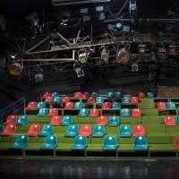 بازگشایی سالنهای تئاتر کانون با فاصلهگذاری مخاطبان | عکس