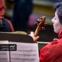 گزارش تصویری تیوال از تمرین ارکستر مانجین، سری نخست / عکاس: سارا ثقفی | ارسلان کامکار، ارکستر مانجین، کیمیا قرهخانی
