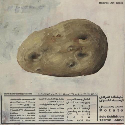 عکس نمایشگاه سیب زمینی