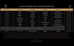 قرعهکشی جدول اکران سینمای رسانه در جشنواره فیلم فجر انجام شد | عکس