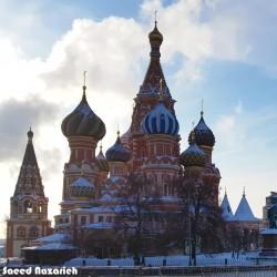گردش روسیه در نوروز ۹۹ |شفق قطبی، مسکو و سن پیترزبورگ| | عکس