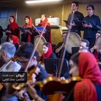 گزارش تصویری تیوال از تمرین ارکستر مانجین (ارسلان کامکار)، سری چهارم/ عکاس: سارا ثقفی | ارسلان کامکار، ارکستر مانجین