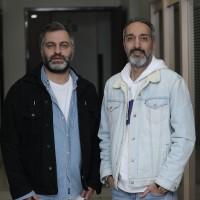 فیلم سونامی | گزارش تصویری تیوال از اکران مردمی فیلم سونامی / عکاس: فاطمه تقوی | امیرمهدی ژوله، میلاد صدرعاملی در اکران مردمی فیلم سونامی