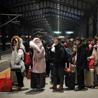 جشن سال نو چینی و شلوغترین تعطیلات جهان | عکس