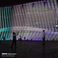 اجرای نورپردازی سه بعدی در ارگ کریمخان شیراز | عکس