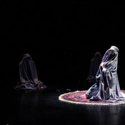 نمایش بیوه سیاه، بیوه سفید | عکس