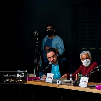 گزارش تصویری تیوال از نشست خبری جشنواره آنلاین هنر زنده است / عکاس: سارا ثقفی | عکس