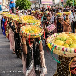 جشنواره شکرگزاری انبه، میناب | عکس