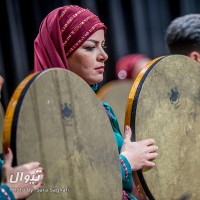 کنسرت دف نوازان نوای شورانگیز به همراهی گروه همنوازان سایه | عکس