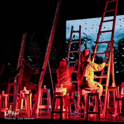 گزارش تصویری تیوال از اختتامیه سی و پنمین جشنواره تئاتر فجر (سری نخست) / عکاس: سید ضیاء الدین صفویان   عکس