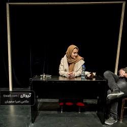 گزارش تصویری تیوال از نمایش زندگی با طعم خردل / عکاس: سید ضیا الدین صفویان | عکس