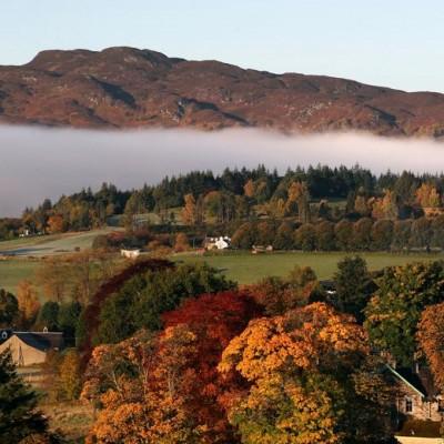 پاییز در نقاط مختلف جهان | Pitlochry, Britain