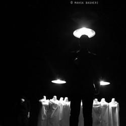 نمایش سیاها | عکس
