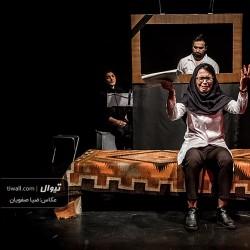 گزارش تصویری تیوال از نمایش مشغله کاذبیه / عکاس: سید ضیا الدین صفویان | عکس