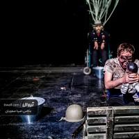 نمایش زندگی کنسرو شده | گزارش تصویری تیوال از نمایش زندگی کنسرو شده / عکاس: سید ضیا الدین صفویان | عکس