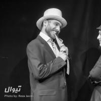 گزارش تصویری تیوال از نمایش آوازه خوان طاس / عکاس: رضا جاویدی   عکس