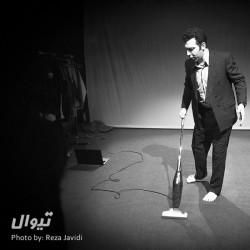 نمایش کار هنرپیشه روی خود | عکس