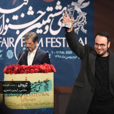 گزارش تصویری تیوال از مراسم اختتامیه سی و هشتمین جشنواره فیلم فجر (سری نخست) / عکاس: آرمین احمری | عکس