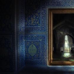 نمایشگاه نور چشمیهای اتاق آینه | عکس