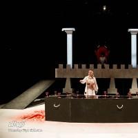 گزارش تصویری تیوال از نمایش آنتیگونه / عکاس: سید ضیا الدین صفویان | عکس