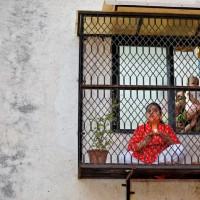 پنجره و بالکنهای جهان در روزهای کرونا   احمدآباد، هند