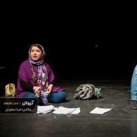 گزارش تصویری تیوال از نمایش فاصله / عکاس: سید ضیا الدین صفویان   عکس