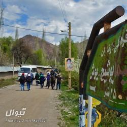 گردش یک سفر یک کتاب |روستای یوش - با احمد پوری| | عکس